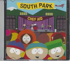 Chef Aid: The South Park Album [PA] by South Park (CD, Nov-1998) No Back Artwork…