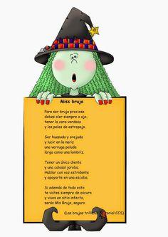 Poesia Infantil i Juvenil: Miss Bruja, poema brujeril de Carmen Gil