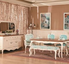 9 Blue Dining Rooms Decor