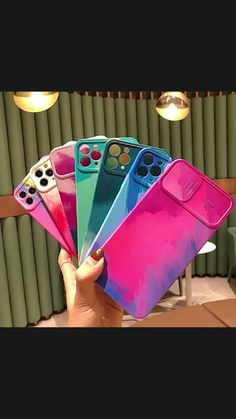 Colorful Camera Protection iPhone Case