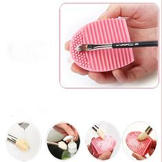SusenstoneCleaning Glove MakeUp Washing Brush Scrubber Board * Check this awesome product by going to the link at the image.