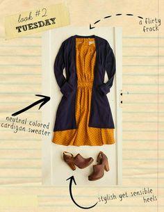 dtw2+acrobat+cardigan+kork+ease+paulette+bootie+pink+martini+dress+what+to+wear+back+to+school+horseshoe.jpg 612×792 pixels