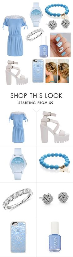 """""""#726"""" by lucy-smith-2 ❤ liked on Polyvore featuring Lacoste, Blue Nile, Casetify and Essie"""