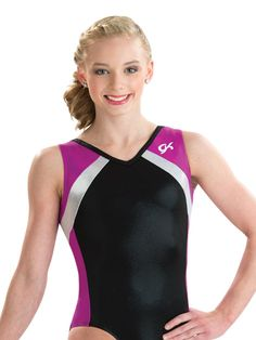 Magenta Muse Tank Leotard from GK Elite
