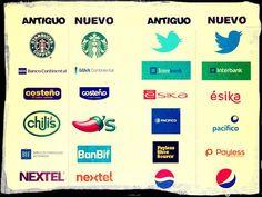 Logos: Antiguos vs. Nuevos
