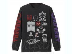 Kill la Kill Long Sleeve T-Shirt Black XL by Cospa
