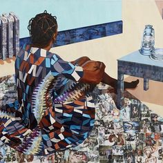 """""""'The Beautyful Ones Are Not Yet Born' Might Not Hold True For Much Longer"""" (2013) by Njideka Akunyili Crosby #SUNUnotes #SUNUjournal by sunujournal"""
