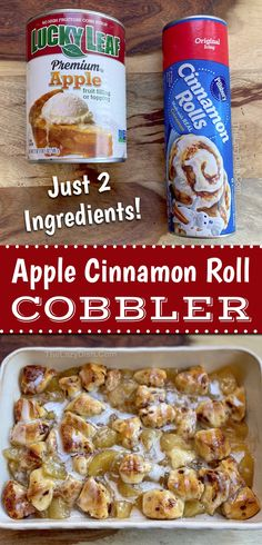 Pillsbury Cinnamon Rolls, Pillsbury Recipes, Cinnamon Rolls Bake, Cinnamon Rolls With Apples, Homemade Cinnamon Rolls, Cinnamon Roll Cookies, Cinnamon Roll Apple Pie, Peach Cobbler Cinnamon Rolls, Food Cakes