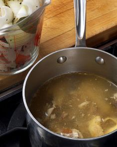 We give each of our dogs about 4oz. (1/2 cup) of homemade bone broth nightly. It's so easy to make, and provides wonderful gelatin so their joints stay nice & smooth (esp for our 10- and 11-year-old boys!). I use the recipe linked for either chicken or beef broth, and make a 1st batch for my human family. Then, instead of cleaning up, I make a 2nd batch for my fur-covered kids. Bonus: it's way cheaper than a nightly Cosequin supplement!