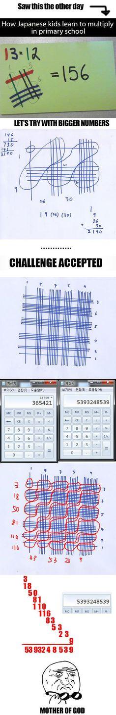 Japanese Math… #lol #haha #funny