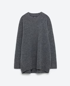 Image 8 of STRIPED OVERSIZE SWEATER from Zara