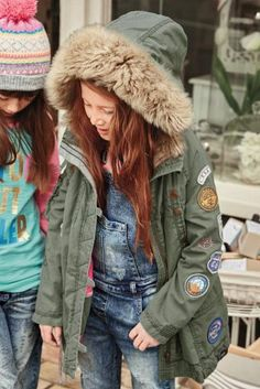 Image result for embroidered parka   embroidered coats   Pinterest ...