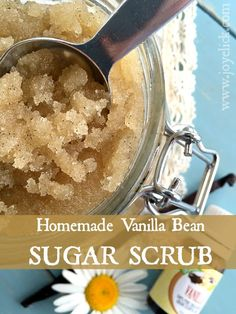 DIY vanilla-bean SUGAR SCRUB: Feel the youth emerge in your skin ...