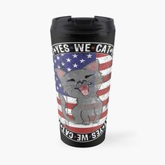 Us Election, Cat Dad, Phone Covers, Designs, American Flag, Cat Lovers, Military, Mugs, Tumblers