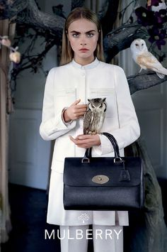 Cara Delevingne for Mulberry www.byoutifulyou.com/article/fashion/2013/