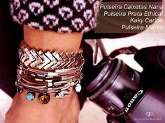 Acessórios para dar um up na produção e tirá-la do lugar comum. #lookverao #lifestyle #chic #streetstyle #style #glam #gracealmeidabijoias #acessoriees #braceletes #moda #trend #fashionismo #fashionstyle #fashionblogger #fashionjewelry #fashion #pulseirascomima #bijuteriasemcuritiba #curitiba #hippiechic #joias #inverno2015 #spring #habdmade #healthylifestyle