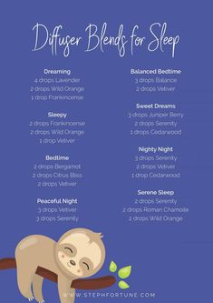 Essential Oil Diffuser Blends for Sleep Essential Oil Diffuser Blends for Sleep - Inhaling essential oils that have calming, relaxing and soothing properties can help the body to relax and encourage a good nights sleep. Sleeping Essential Oil Blends, Essential Oils For Sleep, Essential Oil Diffuser Blends, Essential Oil Uses, Doterra Essential Oils, Doterra Oils For Sleep, Doterra Sleep Blends, Sleepy Essential Oil Blend, Doterra Oil Diffuser