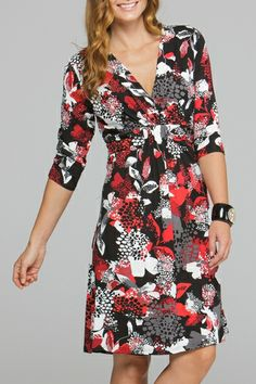 Y Clementine 3/4 Slv Dress - Womens Knee Length Dresses - Birdsnest Buy Online