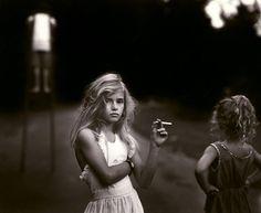 Sally Mann, Candy Cigarette, 1989