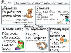 Vocabulary Exercises, Grammar Exercises, Therapy Activities, Writing Activities, Pediatric Physical Therapy, Greek Language, School Staff, School Psychology, Learning Disabilities