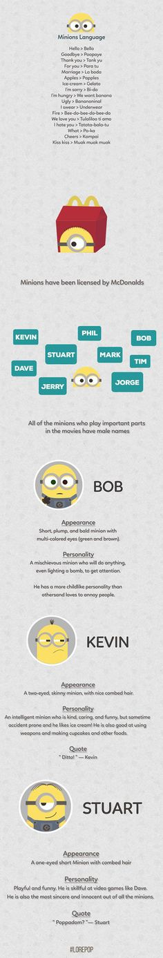 Facts About Minions That You Might Not Know