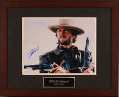 New Charity Auction Items Available: Hollywood legend Clint Eastwood signed and framed 11x14 Photo https://www.cfr1.org/fundraising-items/