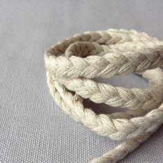 Jute and cotton mix plaited rope 50 yards by LostPropertyHongKong 50 Yards, Nautical Party, Ocean Themes, Plaits, Fraternity, Silver Color, Jute, Etsy Store, Hong Kong