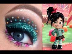 Vanellope Makeup Tutorial. Youtube channel: http://full.sc/SK3bIA