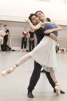 All sizes | James Hay as the Young Man and Mayara Magri as the Gypsy Girl in rehearsal for The Two Pigeons, The Royal Ballet © 2015 ROH. Photograph by Andrej Uspenski | Flickr - Photo Sharing!