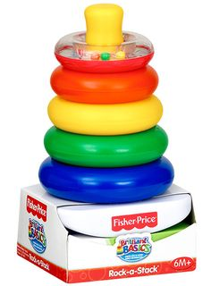 Juguete de Fisher Price Rock a Stack a $2.99 en Walmart!