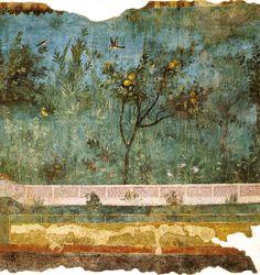 File:Villa di livia, affreschi di giardino, parete corta meridionale 02.jpg