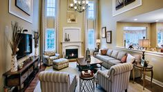 Toll Brothers - 2-Story Family Room