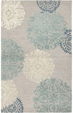 $5 Off when you share! Rizzy Rugs Dimensions DI2241 Light Grey Rug #RugsUSA