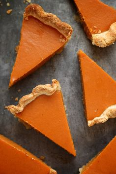 Dad's Sweet Potato Pie by joy the baker