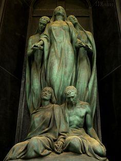 Genoa, Italy. Staglieno Cemetery,