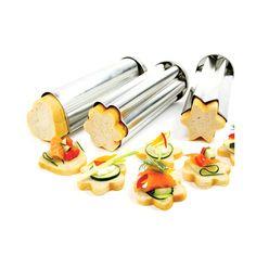 Norpro Canape Bread Mold Set | #baking #bread | www.zansaar.com