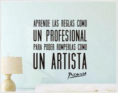 Para todos los que hacemos del arte una profesión... y de nuestra profesión, un arte!!