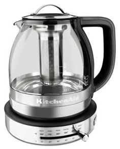 Learn about features and specifications for the Glass Tea Kettle (KEK1322SS)