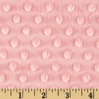 Shannon Minky Cuddle Dimple Blush Shabby Chic Fabric Minky