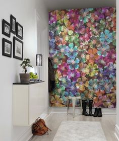 Hey, look at this wallpaper from Rebel Walls, Big Bloom! #rebelwalls #wallpaper #wallmurals