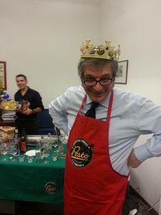 Gara Eliminatoria del Campionato del Mondo di Pesto al Mortaio 2014 - Circolo Svizzero presso Banca Patrimoni Sella & C. The King of Pesto: Roberto Panizza!