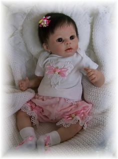 Reborn Baby Doll Amelie by Linda Murray New Release Briar Hill Nursery