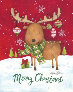 Christmas Artwork, Whimsical Christmas, Christmas Wallpaper, Christmas Pictures, Vintage Christmas, Christmas Scenes, Winter Christmas, Merry Christmas, Christmas Time