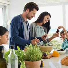 Make family meals matter. #healthyliving #family #wellness