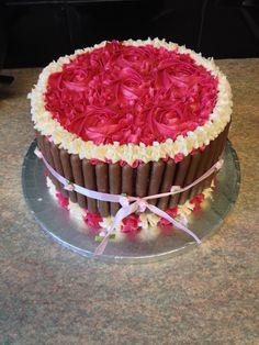 Yummy birthday cake xx