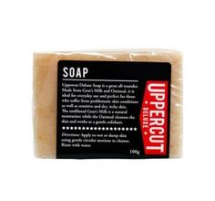 Uppercut Deluxe Soap - Eighty Eight Store Milk Moisturizer, Natural Moisturizer, Moisturiser, Natural Exfoliant, Male Grooming, Brand Packaging, Product Packaging, Goat Milk, Soap Making