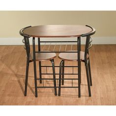 Dining Table Set For 2 Bistro   www.bobbiejosonestopshop.com  #BobbieJosOneStopShop #DiningTableSet #Bistro #Indoor #CounterHeight #3Piece #PubStyle #Kitchen