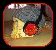 ooit in opdracht gehaakt.  koptelefoonmuts. Crochet Hats, Beanie, Knitting Hats, Beanies, Beret