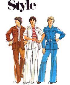 style 70's pattern