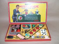 Mysto Magic Exhibition Set No. 1 issued by A. C. Gilbert  *** Classic Magic***